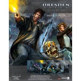 The Dresden files: pantalla del DJ