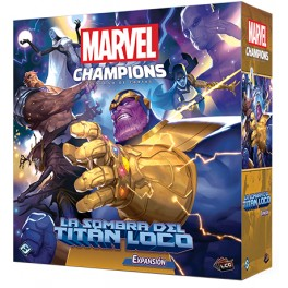 Marvel Champions: La sombra del titan loco - expansión juego de cartas