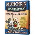 Munchkin Warhammer 40.000: Lealtad y Potencia de Fuego - expansión juego de cartas