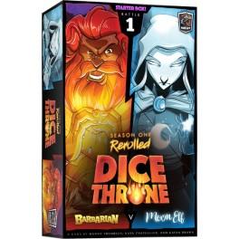 Dice Throne Season One Rerolled: Barbarian vs Moon - expansión juego de mesa