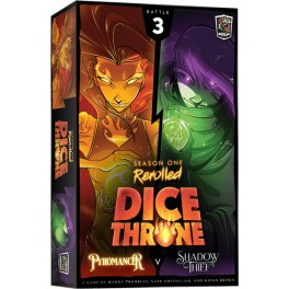 Dice Throne Season One Rerolled: Pyromancer vs Shadow Thief - expansión juego de mesa