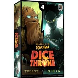 Dice Throne Season One Rerolled: Treant vs Ninja - expansión juego de mesa