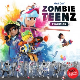 Zombie Teenz Evolution - juego de mesa