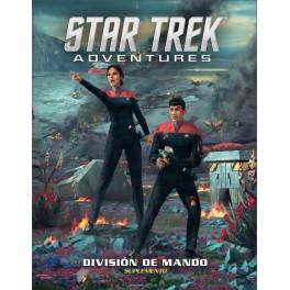 Star Trek Adventures: División de Mando - suplemento de rol