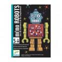 Cartas Memo Robots - juego de cartas para niños