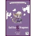 Libro Juego Infantil 01: Gatitos y Dragones - libro juego para niños