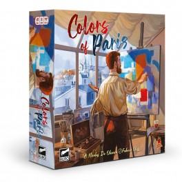 Colors of Paris - juego de mesa