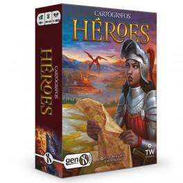 Cartografos. un Relato de Roll Player: Heroes - juego de mesa