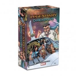 Legendary: A Marvel Deck-building game - Dimensions - expansión juego de cartas