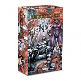 Legendary: A Marvel Deck-building game - Realm of Kings - expansión juego de cartas