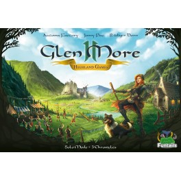 Glen More II: Chronicles. Highland Games - expansión juego de mesa