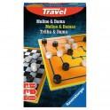 Molino y Damas (edicion de viaje) - juego de mesa