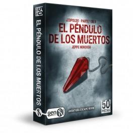 50 Pistas: el Pendulo de los Muertos + PROMO - juego de cartas