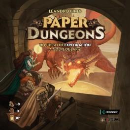 Paper Dungeons - juego de dados