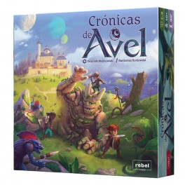 Cronicas de Avel - juego de mesa