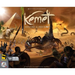 Kemet: Sangre y Arena - juego de mesa
