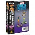 Marvel Crisis Protocol: Jean Grey and Cassandra Nova - expansión juego de mesa