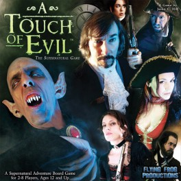 A Touch of Evil: The Supernatural Game  juego de mesa