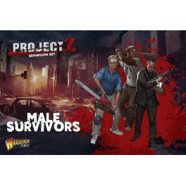 Project Z : Expansión Male Survivors juego de mesa
