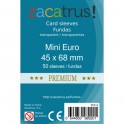 Fundas Protectoras Zacatrus Mini Eurogame Premium - Tamaño 45x68 MM
