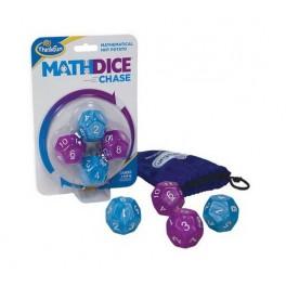 Math Dice Chase juego de mesa