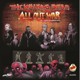 The Walking Dead: All Out War - Caja basica