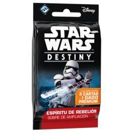 Star Wars Destiny. Espiritu de rebelion: sobres de ampliacion