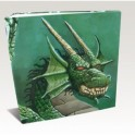 ALBUM 3 ANILLAS HARDBACK DRAGON SHIELD GREEN