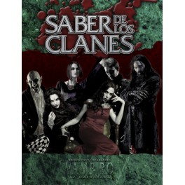 Vampiro La Mascarada: Saber de los Clanes juego de rol