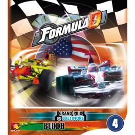 Formula D expansion 4: G.P. Baltimore & Buddh juego de mesa