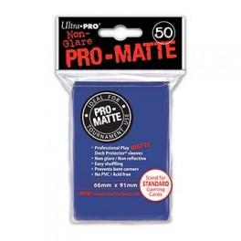 50 Fundas Protectoras Ultra Pro Azules. Tamaño 66x91