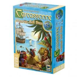 Carcassonne Mares del Sur juego de mesa