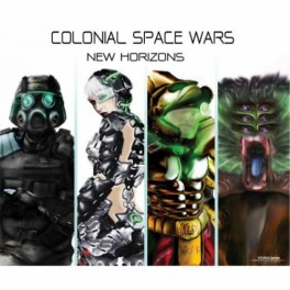 Colonial Space Wars: New Horizons juego de mesa