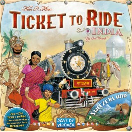 Aventureros al Tren: India juego de mesa