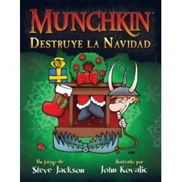 Munchkin: Destruye la Navidad juego de cartas