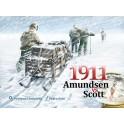 1911 Amundsen vs Scott juego de mesa