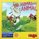 Animal sobre animal juego para niños haba