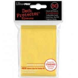 50 Fundas Protectoras Ultra Pro Amarillas. Tamaño 66x91