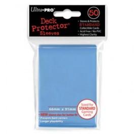 50 Fundas Protectoras Ultra Pro Azul Cielo. Tamaño 66x91