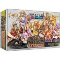 Battlecon: war of indines - extended edition - juego de cartas