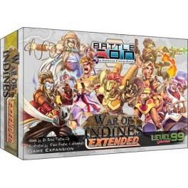 Battlecon: war of indines - extended edition - juego de cartas