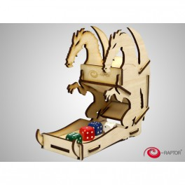 Dice tower small dragon - (torre de dados)