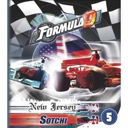 Formula D Expansion 5: Circuito New Jersey & Sotchi