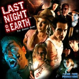 Last night on earth: the zombie game - juego de mesa