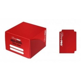Deck Box Pro Dual Ultra Pro Rojo