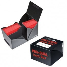 Deck Box Pro Dual Ultra Pro Negro