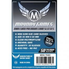Fundas Protectoras MayDay Mini Europeas Premium - Tamaño 45x68 MM