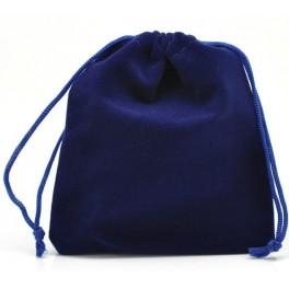 Bolsa para dados de terciopelo: color azul