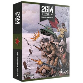 2GM TACTICS: Union Sovietica - expansion juego de cartas