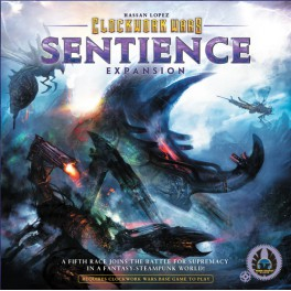 Clockwork wars: sentience - expansion juego de mesa